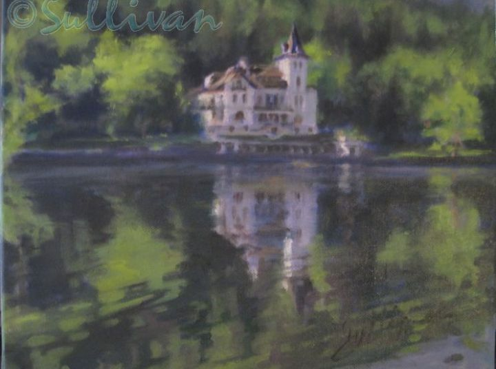 IMG 8330Reflections on Grundlsee  Villa Castiglione  oil on linen 9x12  2 -68-800-600-80-wm-left top-25-wasserzpng